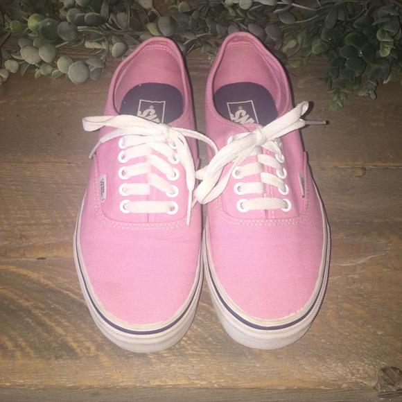 Vans Shoes | Bubblegum Pink Vans | Poshmark